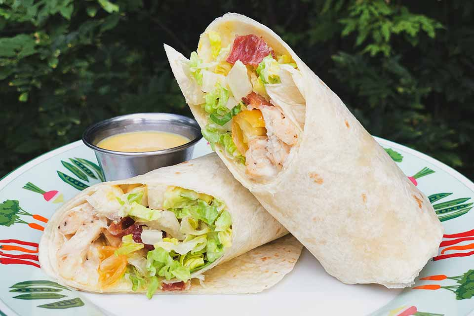 Hunny Bunny Grilled Chicken Wrap