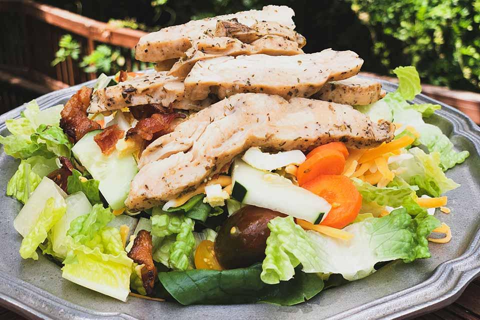 The Duke Chicken Cobb Salad