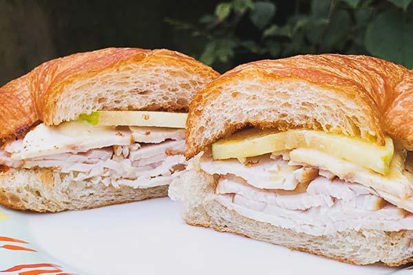 Turkey Breeze Sandwich Croissant