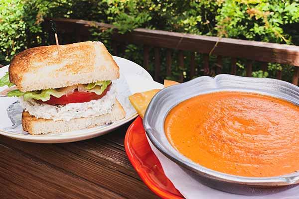 Soup Half Sandwich